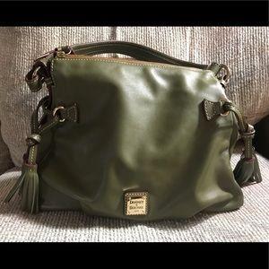 Dooney & Bourke Smooth Leather Shoulder Bag Teagan